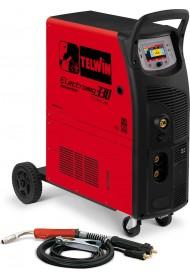 TELWIN Ηλεκτροκόλληση Inverter σύρματος Τριφασική Electromig 330 Wave 816061
