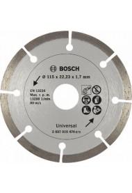 Bosch Διαμαντόδισκος Δομικών Υλικών Promoline 115mm 2607019474