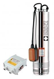 KRAFT Υποβρύχια Αντλία Πηγαδιών SCM4  με Φλοτέρ & Πίνακα 750W 63522